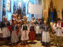 kolędowanie w kościele i Witoszowie 2015